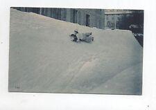 Carte postale SPORTS D'HIVER. Luge à Kilchberg, Suisse