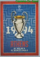 586  FINAL 1993-94 AC.MILAN Vs FC.BARCELONA STICKER CHAMPIONS LEAGUE 2016 TOPPS