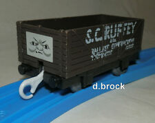 SCRUFFY S C RUFFY BROWN TROUBLESOME TRUCK Tomy Thomas The Tank Engine wagon