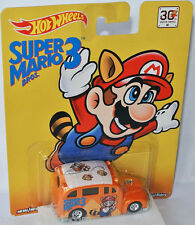 NINTENDO - SCHOOL BUSTED * SUPER MARIO 3 * - 1:64 Hot Wheels