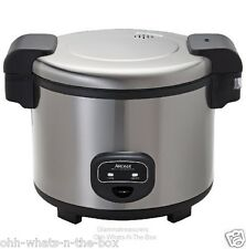Rice Cooker Automatic Electric Commercial 60 Cup Cooked Warmer Catering Resturan