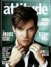 ATTITUDE #263 11/2015 Awards Issue ADAM LAMBERT Yoko Ono VIVIENE WESTWOOD @NEW@