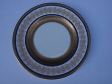 Set of 12 Wedgwood  Dinner Plates - Cobalt & Gold Rims - Circa 1902 -1920