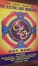 "40x60"" HUGE SUBWAY POSTER~ELO Electric Light Orchestra 1994 The Very Best Of NOS"