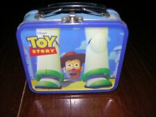 FOSSIL:Toy Story Collectible Watch Mini Lunch Box 1996 Buzz & Woody,Leather Band