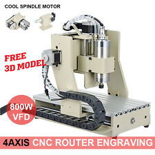 110V 4 AXIS Router Engraver Engraving Drilling Milling Machine Desktop CNC3020T