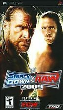 WWE SmackDown vs. Raw 2009 Featuring ECW Sony PSP Game Complete CIB UMD
