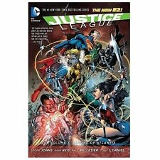 Justice League Vol. 3: Throne of Atlantis (the New 52) by Geoff Johns (2013,...