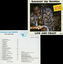 SCREAMIN' JAY HAWKINS  live and crazy  HOTEL MERIDIEN 88