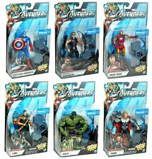 Marvel Avengers Movie Series WalMart Exclusive 6 Figure Set Hulk Hawkeye Loki!