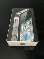 Neuf rare Apple iPhone 4 4th Generation 16GB MC603IP/A noir-lire description