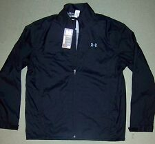 Under Armour Golf men's $170 Waterproof Storm 3 Rain Jacket black size L 1259439