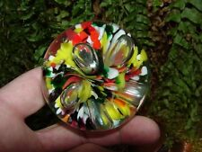 1998 GIBSON - multi-color - GLASS PAPERWEIGHT