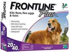 Frontline Plus For Dog 45-88 lbs (for 20-40 Kg) 6 MONTHS (Doses) Flea Control