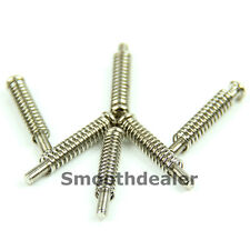 6pcs Guitar Pickup Mounting Pointed Head Screws w/ Springs High Quality