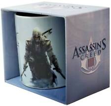 Assassin's Creed 3 - Connor Coffee Mug NEW * hot cold tea drinks cup assassins