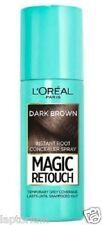L 'oreal Magic Retoque Marrón Oscuro raíz Instantánea Corrector Spray 75ml