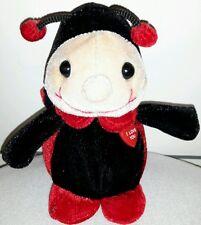 COCCINELLA PELUCHE I LOVE YOU - Ladybug Plush Figure Trudini Lady Bug Trudi