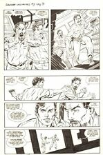 Danger Unlimited #2 p.16 - Main Characters - 1994 Signed art by John Byrne