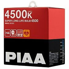 PIAA 4500K SUPER LONG LIFE H4 Headlight halogen Fog Light Bulbs HV101 Japan F/S