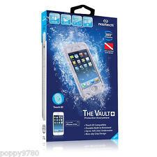 New Naztech Vault+ Waterproof iPhone 5/5s Hard Case Cover w/ Touch ID - White