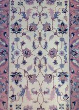 Interesting Ivory - Floral Design Rug - Oriental Indian Runner 3.1 x 5.2 ft.