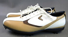 Callaway Golf Shoes ~X Series~ (Size 10) **WHITE and TAN**  (L1)