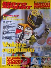 MOTOSPRINT n°49 2002 Master Cross Classe 125 KTM SX 125 Suzuki RM 125  [P60]