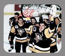 Item#3550 Mario Lemieux Pittsburgh Penguins Facsimile Autographed Mouse Pad