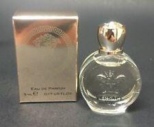 Versace Eros Pour Femme Women Mini Bottle 0.17 OZ 5 ML Eau de Parfum Splash Nib