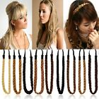 New Synthetic Hair Band Plaited Plait Elastic Bohemia Braids Headband Hairband