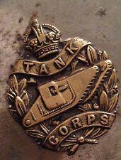 WW1 Cigarette Case - 1919 Lees Council Manchester Peace Celebrations Tank Corps