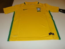 Team Brazil 2016 Federation Soccer Jersey Youth Stadium Home XL Copa America