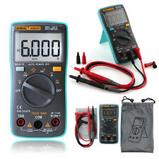 RM101 6000 Counts AC/DC Amp Volt Ohm Temp Diode Tester Digital Meters Portable