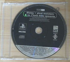 Pixar Monsters & Co. L'Isola dello Spavento - Promo Gioco Completo - New - PSX