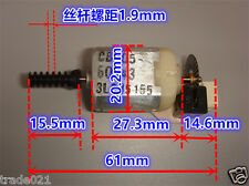 DC 3V-12V Encoder Code Disk Speed Motor Gear 32-line AB Phase 130 Servo Motor