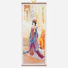 CHINESE WALL HANGING SCROLL, GUI FEI, 82cm LENGTH, FREE UK P&P