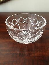 SMALL WATERFORD CUT CRYSTAL FINGER / SALT BOWL 3 7/8''