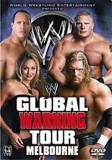 WWE - Global Warning Tour 2002 (DVD) FAST SHIPPING