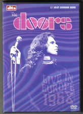 THE DOORS - LIVE IN EUROPE 1968 / Eagle Vision 2004, EAN: 5034504940871 - sehr g