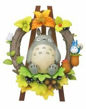 """STUDIO GHIBLI MY NEIGHBOUR TOTORO 33 PCS 3D PUZZLE """"WREATH IN FOREST"""" VERY CUTE"""