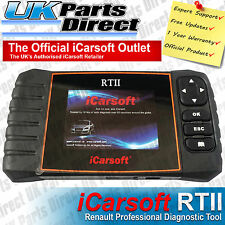 Renault Professional Diagnostic Scan Tool - iCarsoft RTII RT2