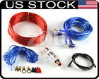 BIG DEAL 8GA RUSE Car Audio Subwoofer Sub Amplifier AMP Wiring Kit Power Cable