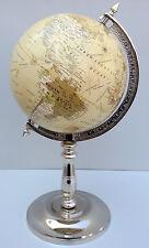 Decorative Desktop Rotating Globe World Earth Office Table Christmas Gift Decor
