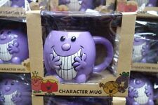 Mr Men  Little Miss Naughty Shaped Ceramic Mug  New Official In Box