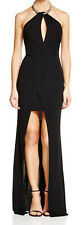 ABS by Allen Schwartz New Embellished Neck Front Slit Gown Sz M MSRP$408 #EN 131