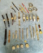 Huge Lot of Vtg & Modern Mens & Womens Watches, Bands & Parts~Timex +++