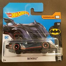 Hot Wheels 2017 Super Treasure Hunt Batmobile DC comic VHTF SHORT CARD!! SALE