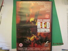 DVD OF RED SCORPION WITH DOLPH LUNGDREN GOOD USED CONDITION