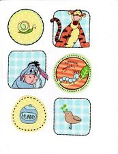 DISNEY EEYORE TIGGER FABRIC WALL SAFE DECALS CUT OUTS